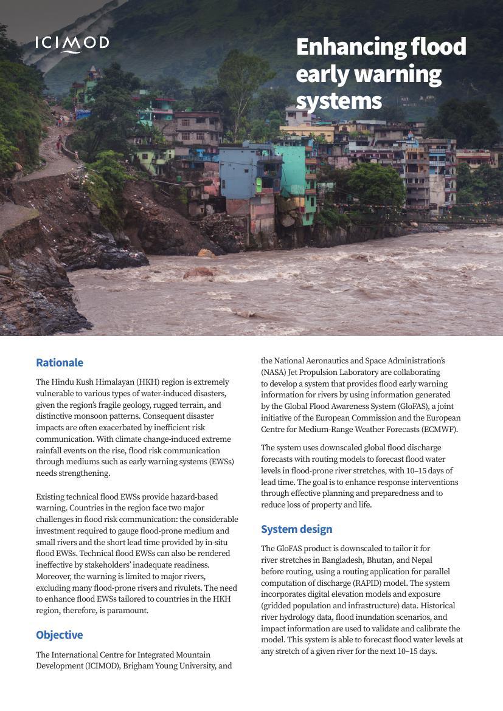 Enhancing Flood Early Warning Systems Himaldoc
